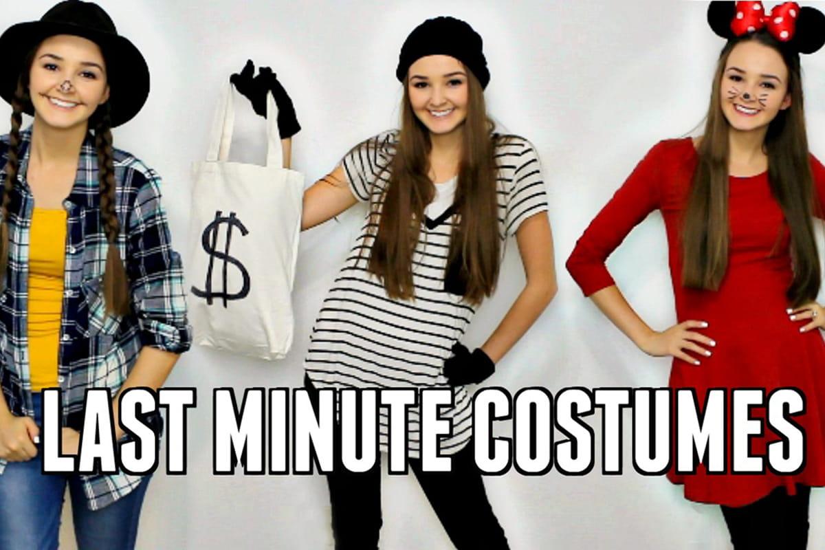 Watch: 5 Last-Minute Easy DIY Halloween Costumes